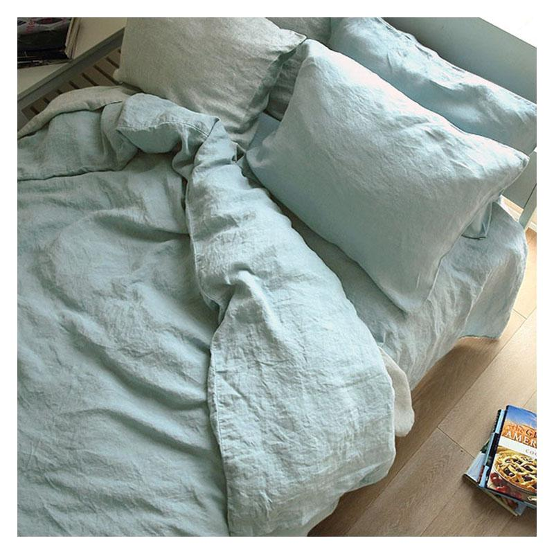100% Linen bedding set #HFL19B03